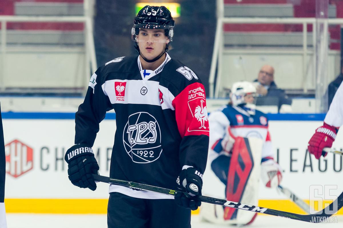 Reunanen on pelannut CHL:ää TPS:n riveissä.