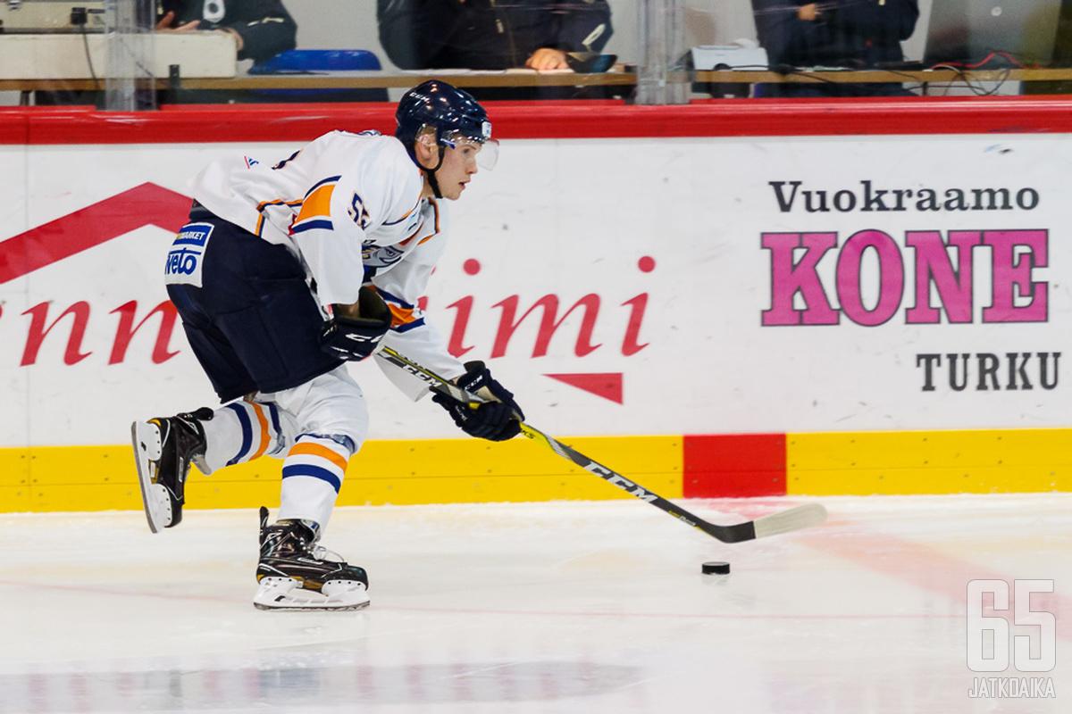 Heikkisellä on aiempaa Mestis-kokemusta Kiekko-Vantaasta.