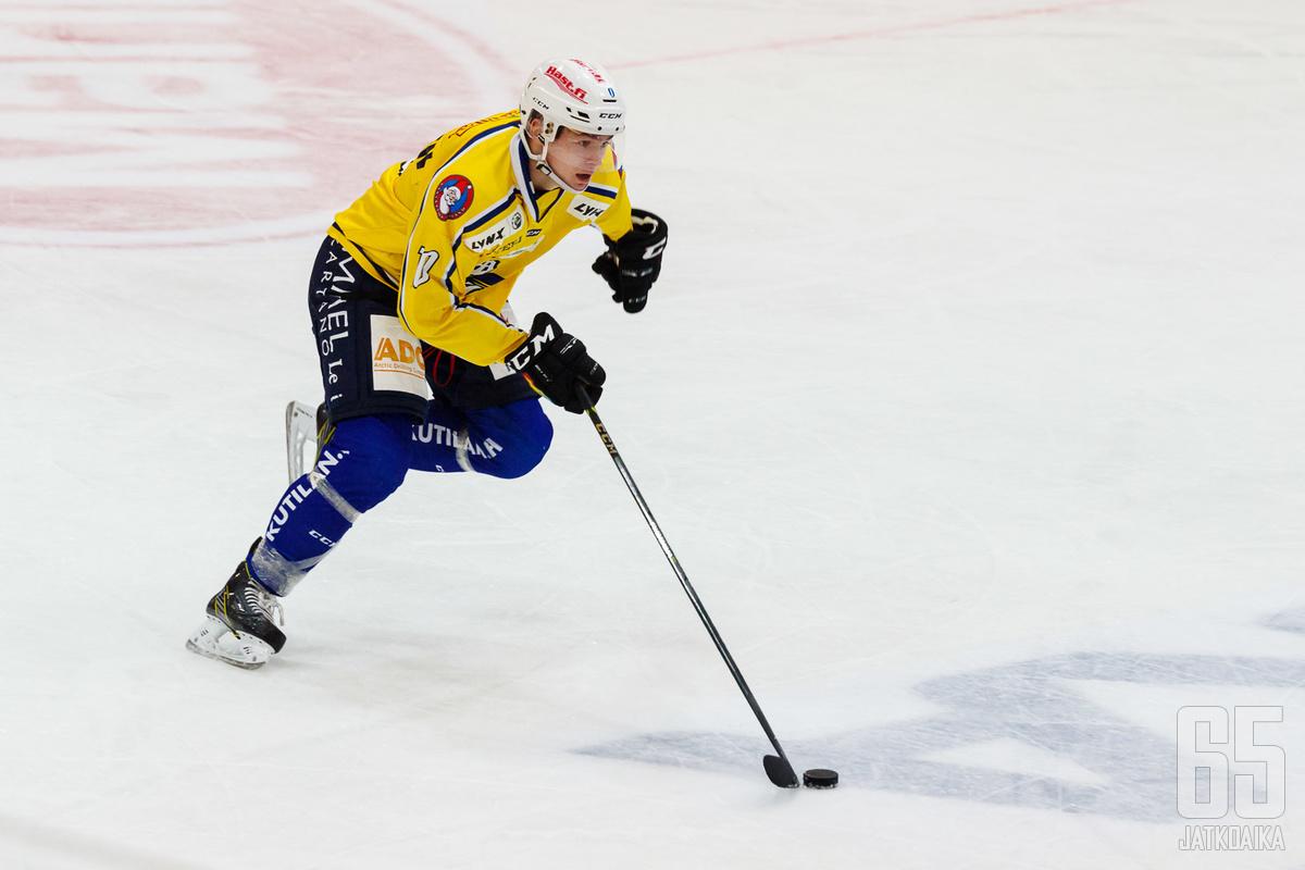 Hermonen pelasi RoKi-paidassa viime kaudellakin.