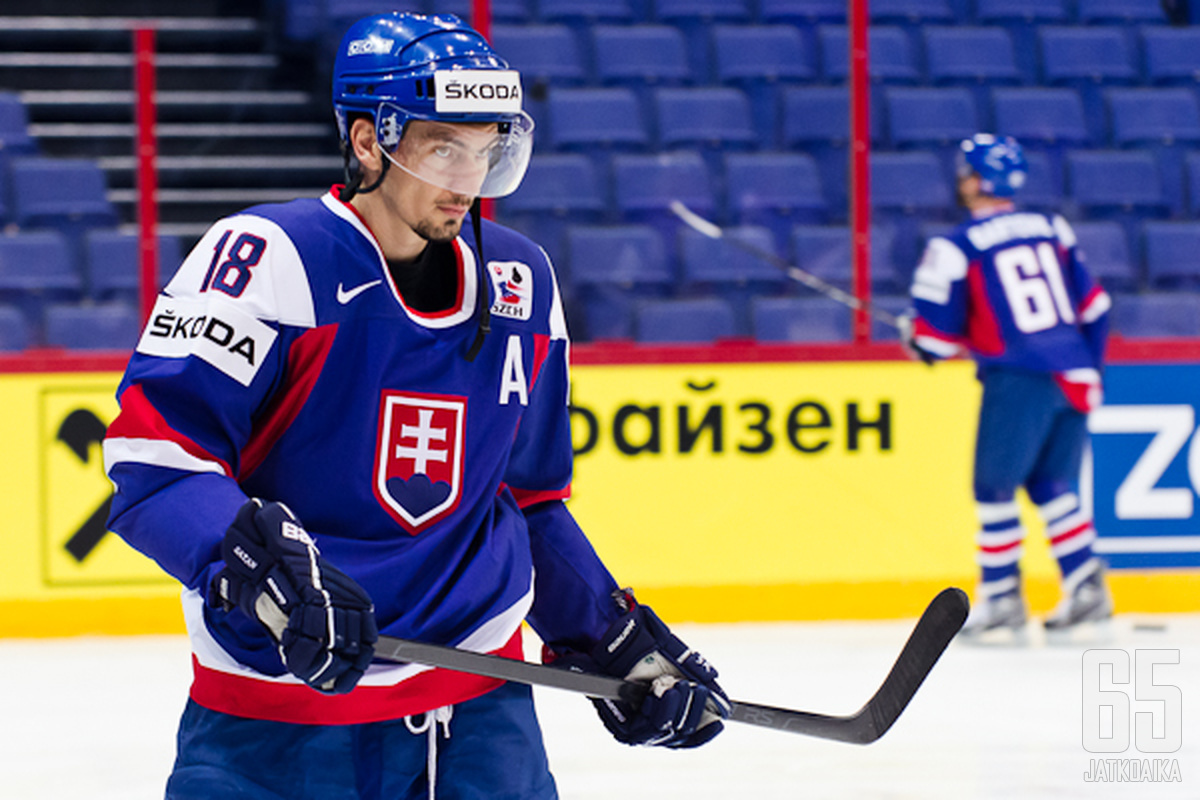 Miroslav Šatania ei enää Slovakian maajoukkuepaidassa nähdä.
