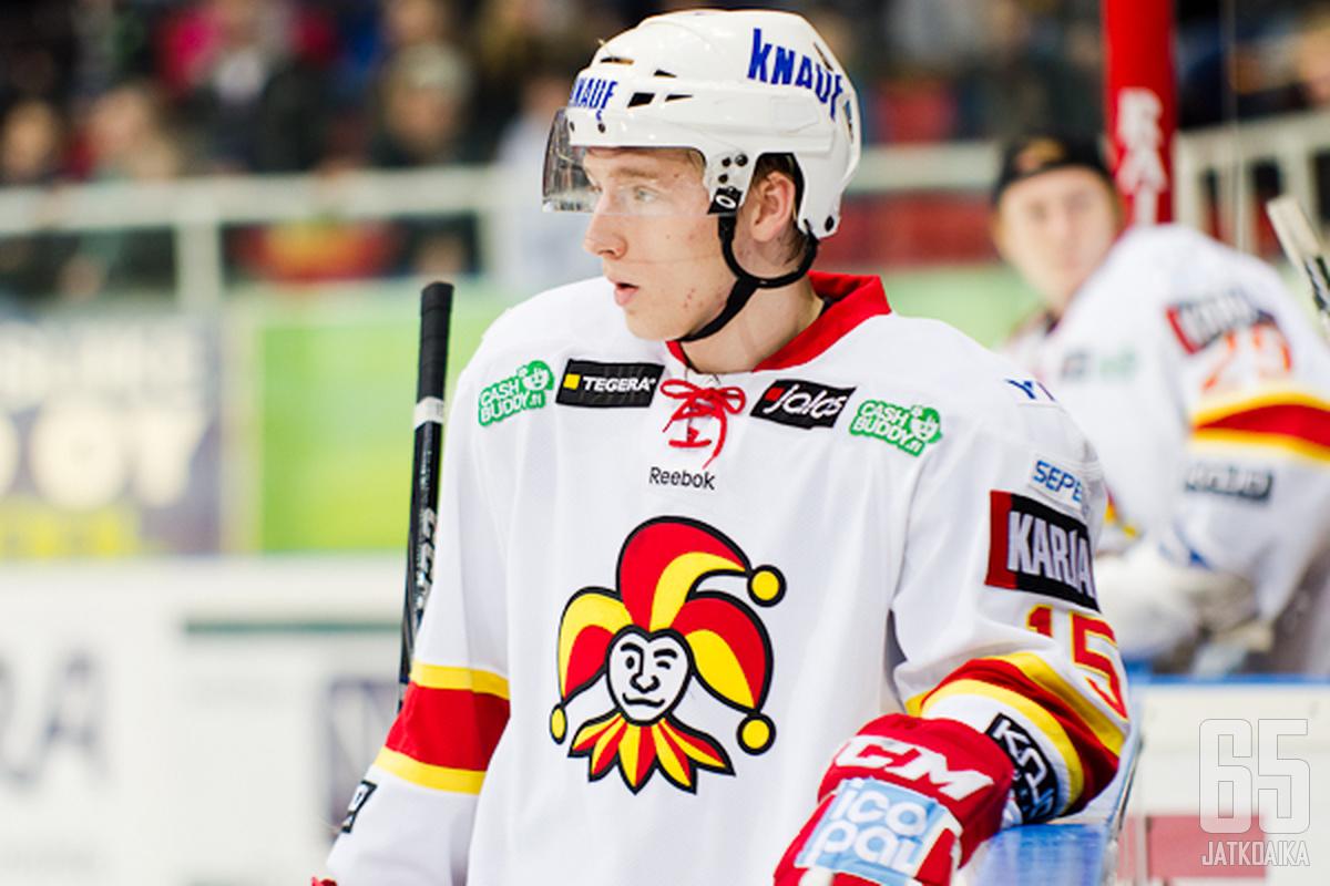 Markus Hännikäinen kokeilee NHL-vauhtia