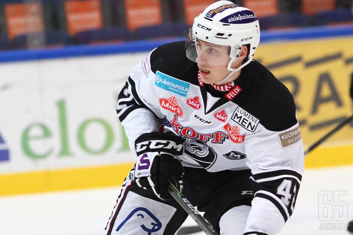 Elias Karvonen kuuluu TPS:n tulevaisuuden suunnitelmiin.