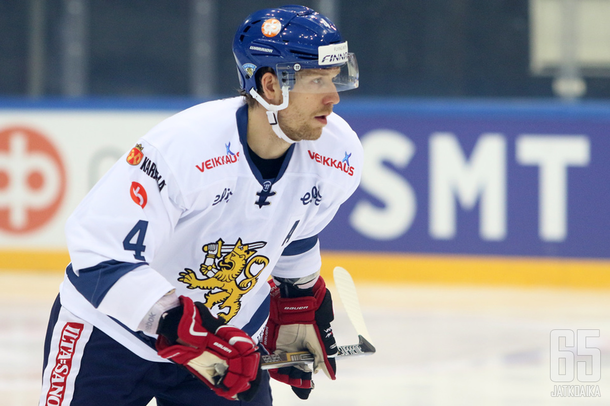 Tommi Kivistö on pelannut maajoukkueessa kahdet MM-kisat.