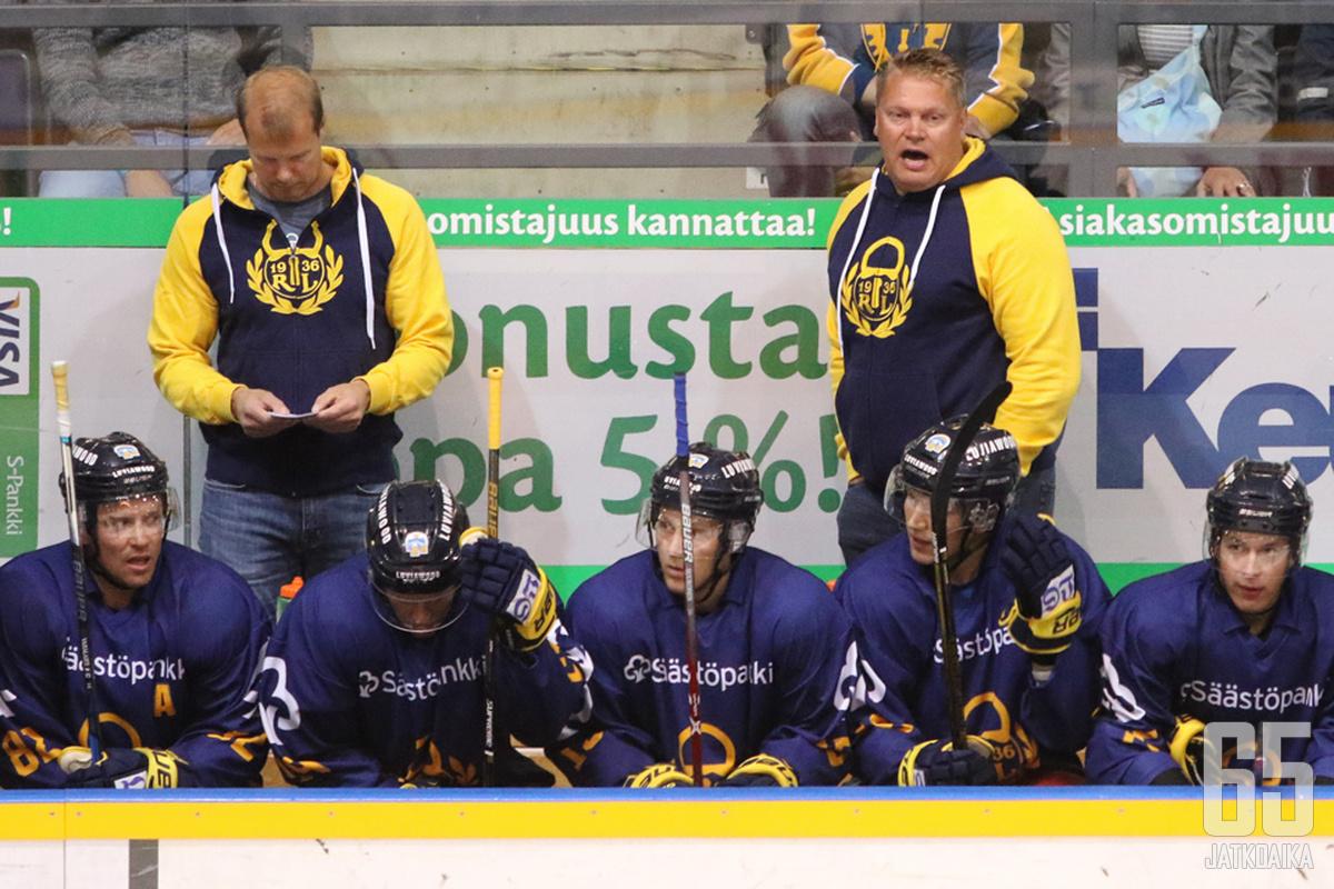 Pekka Virran mausteet näkyivät Lukon pelaamisessa selvästi.