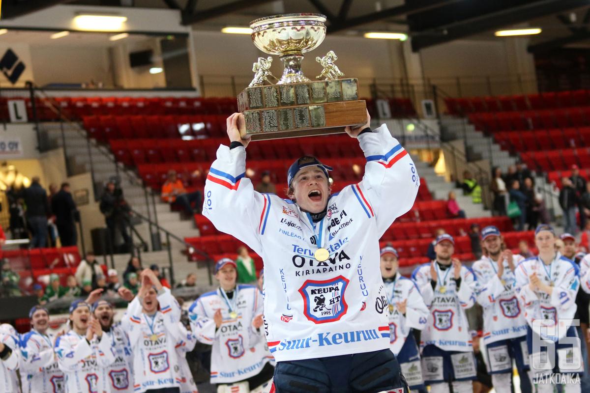 Lassi Lehtisen torjuntaprosentti pudotuspeleissä oli lähes 95.