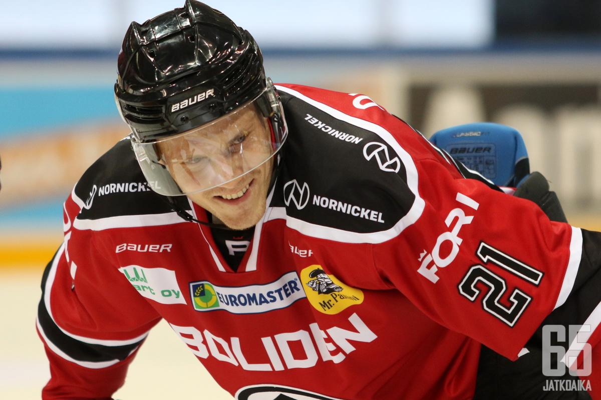 Niklas Appelgren on löytänyt oman paikkansa Porista.