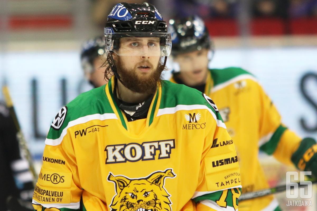 Kuronen pelasi ennen paluutaan Ilvekseen kolme kautta SaiPassa.