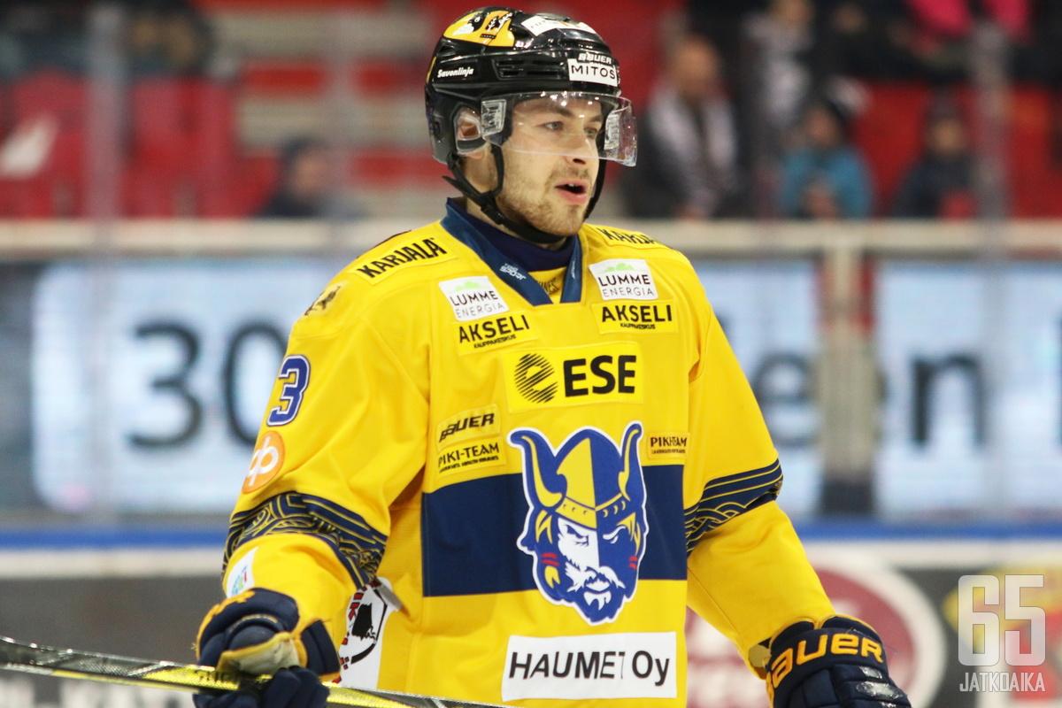 Karalahti pelasi kaksi kautta Jukureissa.