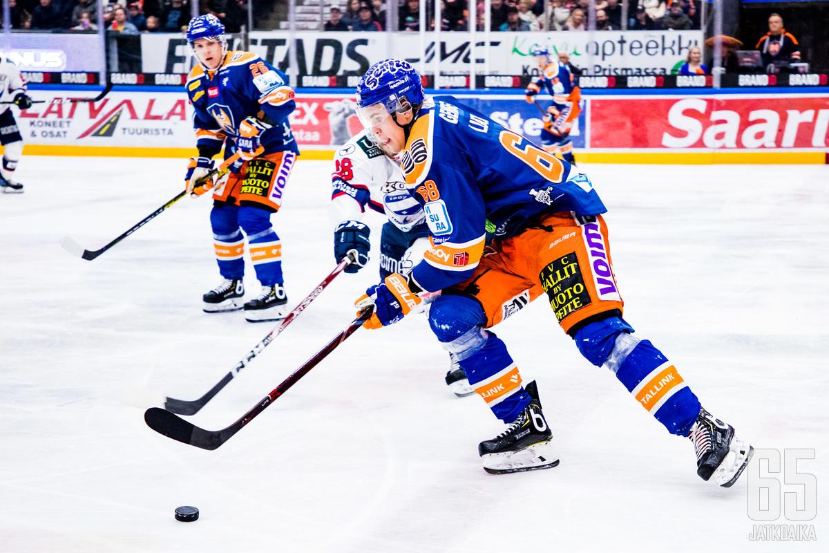 Luoto on pelannut Tapparan paidassa viimeksi keväällä 2019.