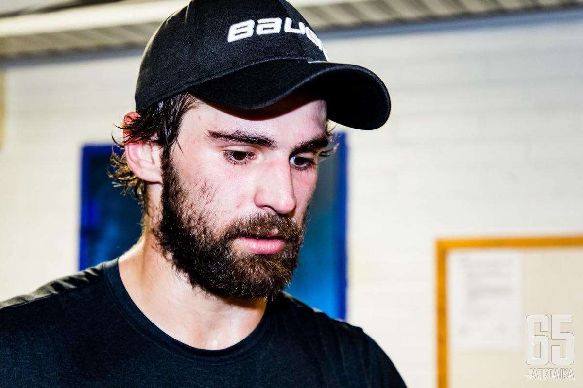 Slovakkipakki Mario Grman haluaa oppia hyökkäyspeliä SaiPassa.