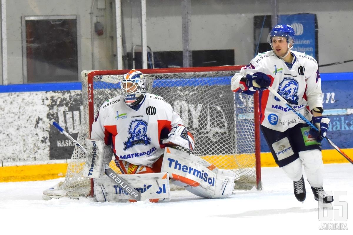 Heljanko pelasi huippuottelun, mutta LeKiltä jäivät maalit tekemättä.