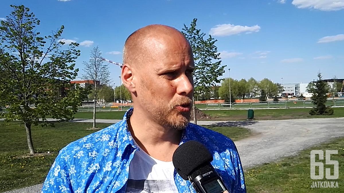 Roope Paltta aloitti TUTO Hockey Oy:n toimitusjohtajana helmikuussa.