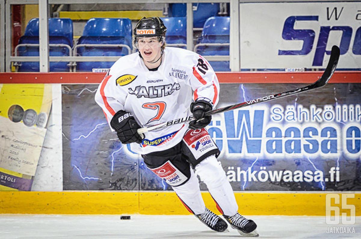 Pietilä on pelannut viime vuodet Jyväskylässä.