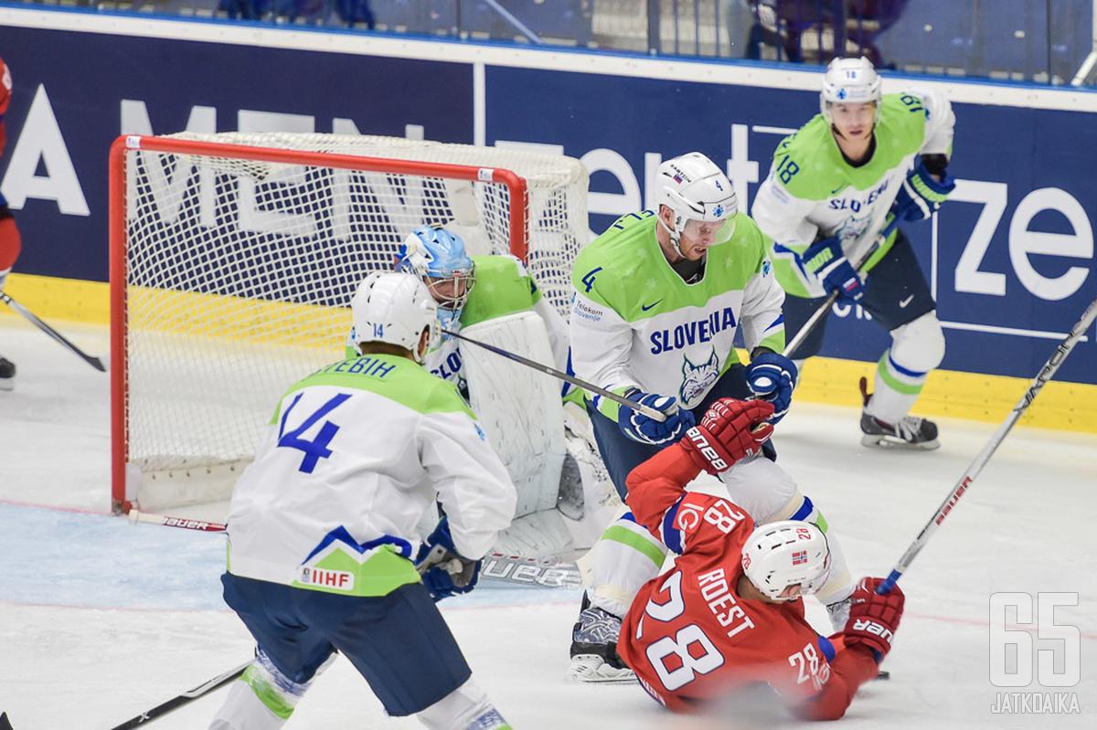 Slovenian nimettömän puolustuksen pitää olla rautaa muun muassa Norjaa vastaan.