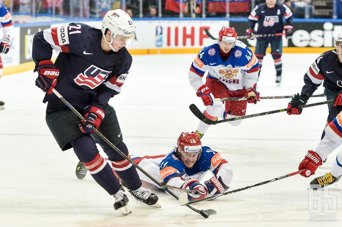 Yhdysvaltain joukkue alkaa muodostua.
