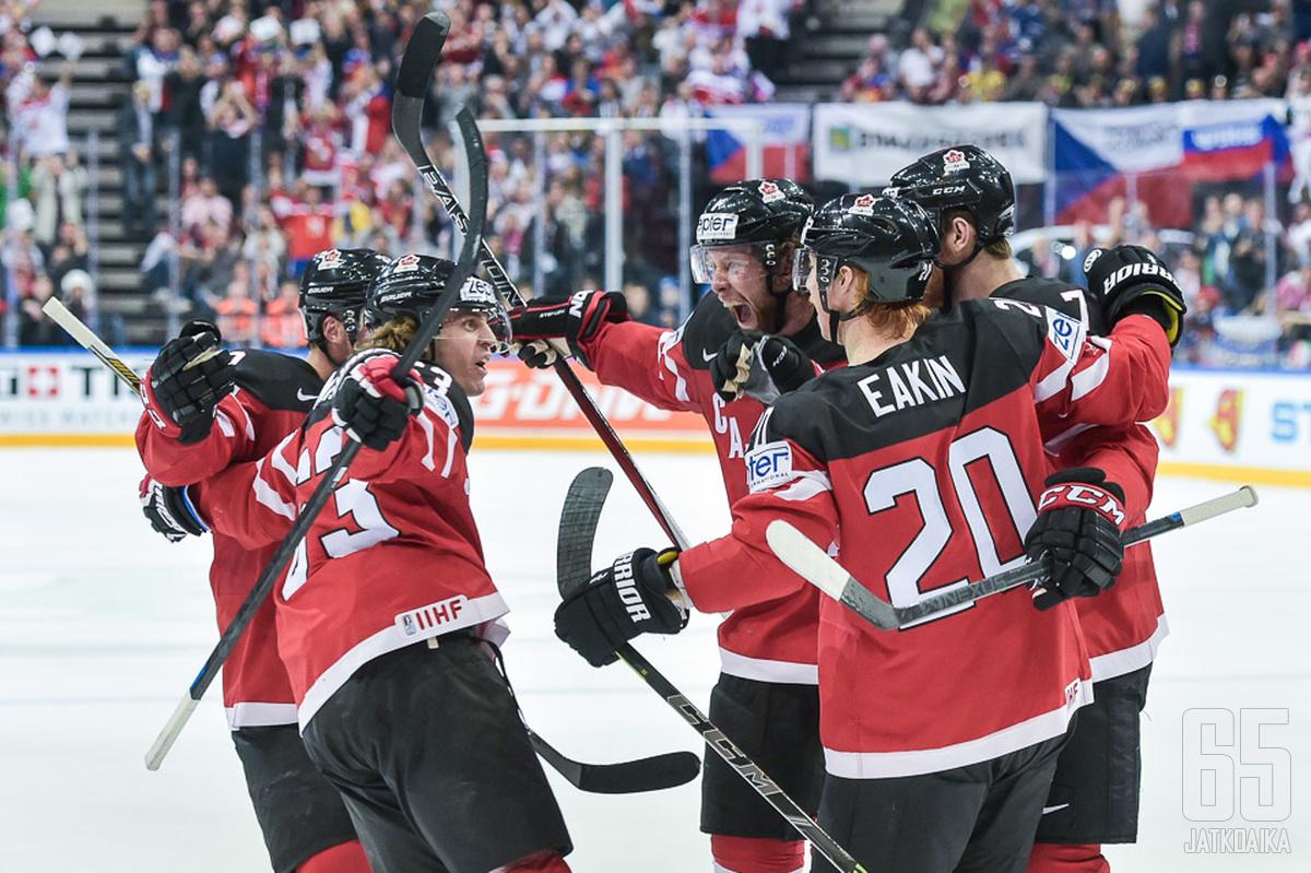 Kanada oli täysin ylivoimainen loppuottelussa Venäjää vastaan.