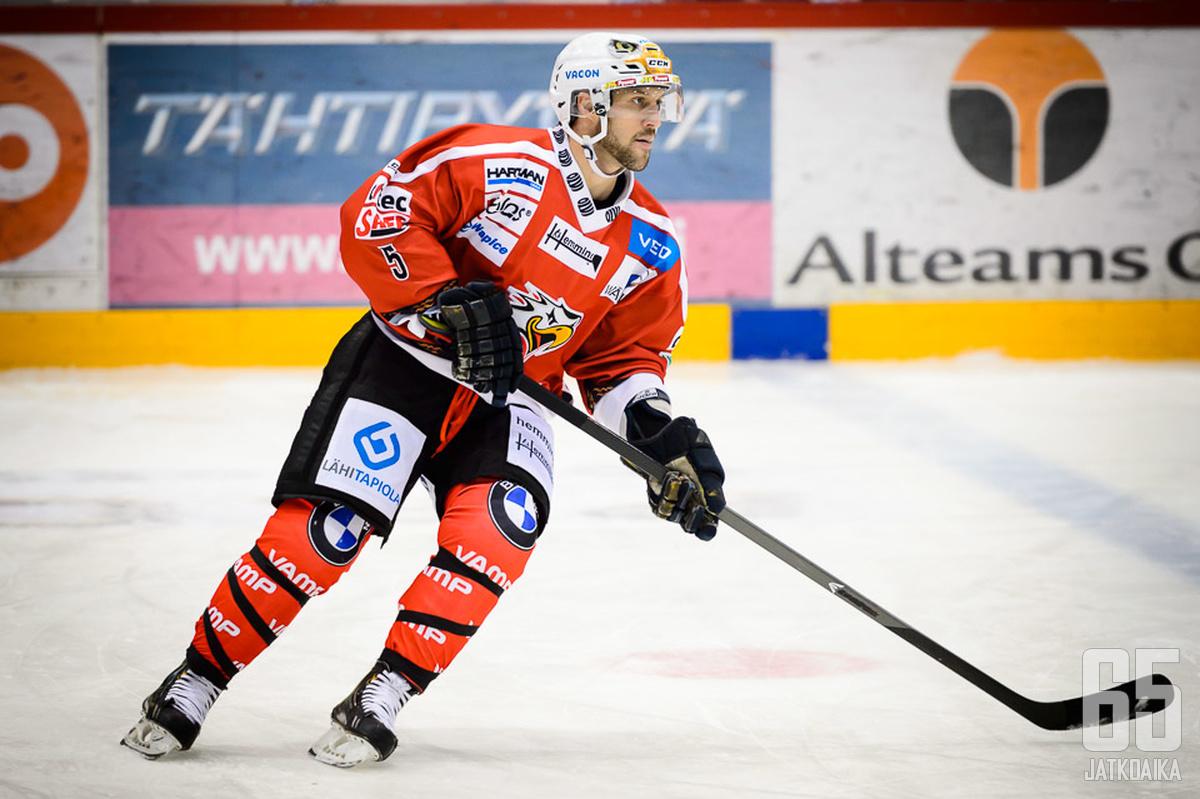 Ivan Rachunek ei pue enää Sport-paitaa päälleen.