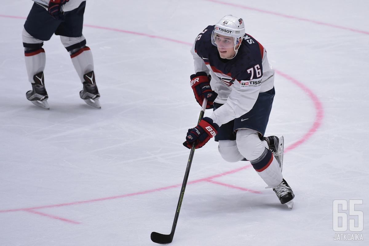 Skjei edusti maataan myös viime vuoden kisoissa.