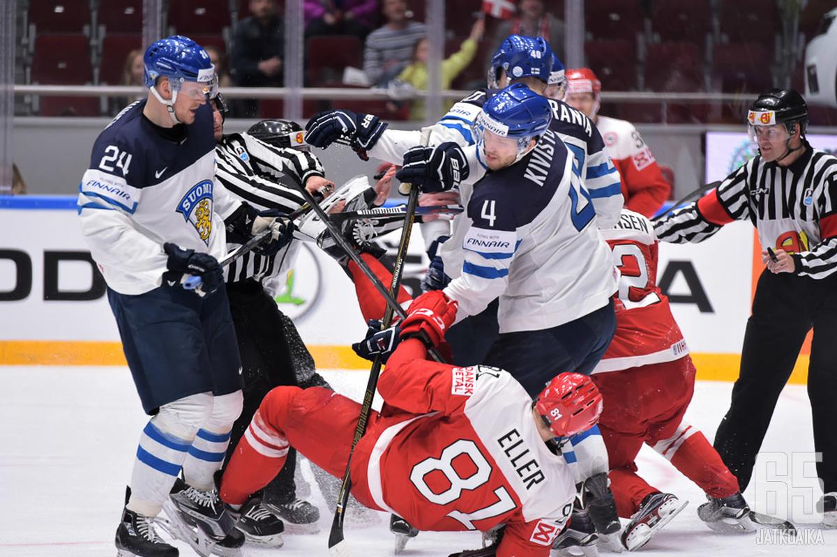 Suomi kohtaa alkulohkossaan myös kisaisäntä Tanskan