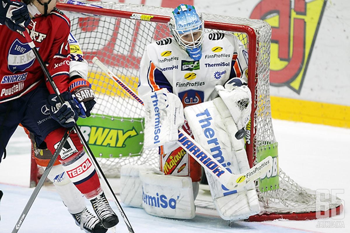 Juha Metsola nollasi HIFK:n.