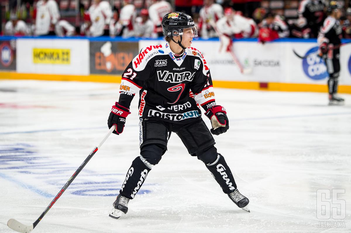 Patrik Puistola nousi listan kärkeen.