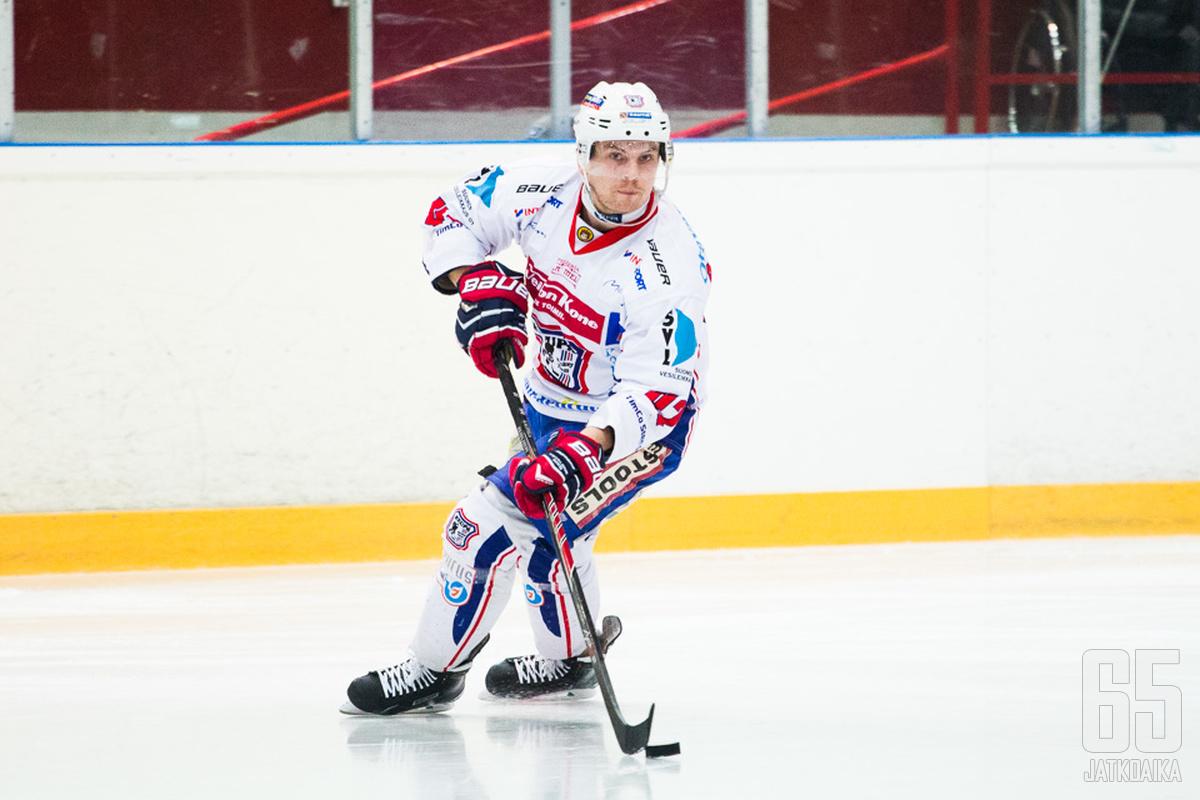 Kauppila oli viime kaudella KeuPan tehokkain puolustaja.