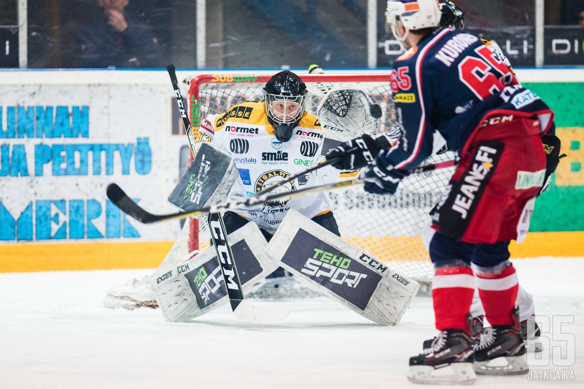 Viime kaudella hurjaan vireeseen IPK:n siivittänyt Tolonen jatkaa seurassa.