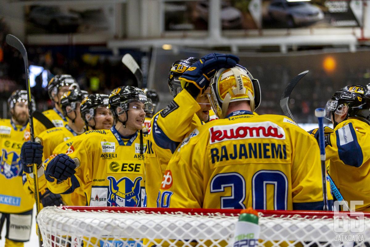 Jukurit nappasi lauantaina kauden toisen voittonsa Jyväskylästä.