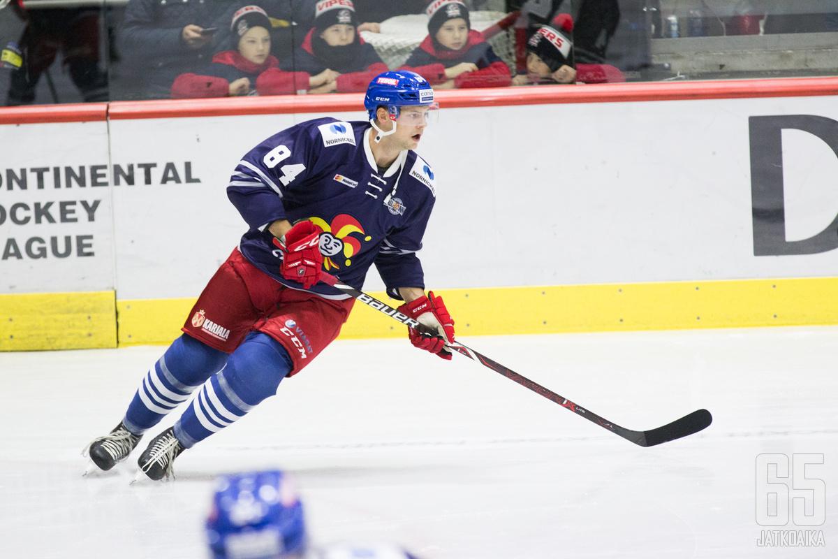 Jokerit oli viimeinen suomalaisseura, jota Max Wärn ammattilaisurallaan edusti.