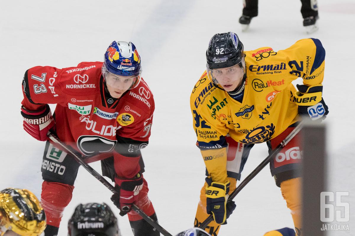 Lukko ja Ässät avaavat kiekkokautensa keskinäisellä ottelulla.