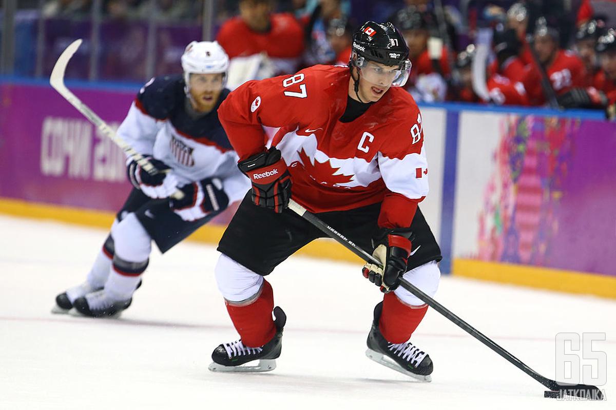 Kanada on Sidney Crosbyn johdolla jälleen ennakkosuosikki. Yhdysvallat tulee ennakko-odotuksissa A-lohkossa askelen jäljessä.