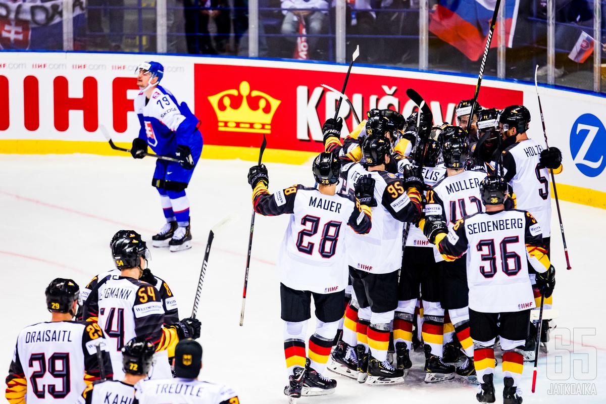 Slovakia MM-turnauksesta on muodostumassa painajainen.