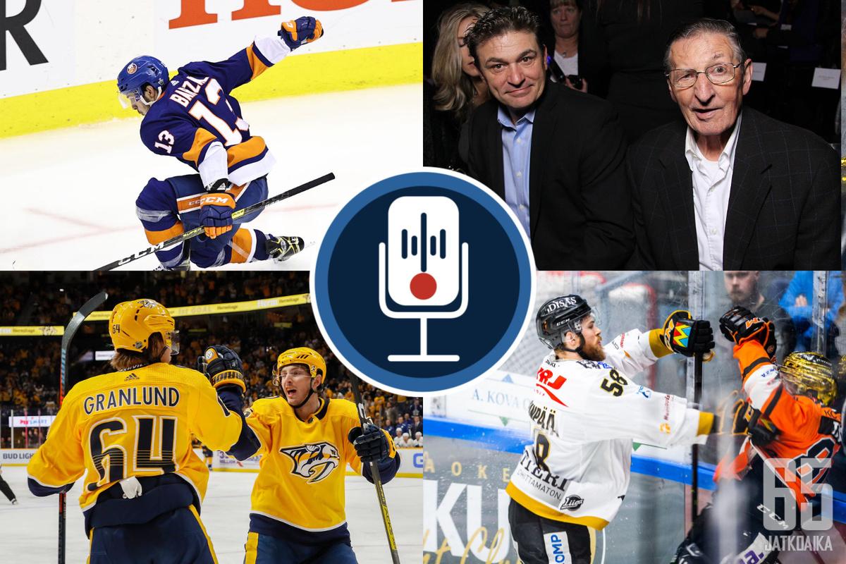Keskiympyrä-podcast käsittelee maaliskuun toisessa jaksossaan tutusti NHL:n ajankohtaisia asioita.