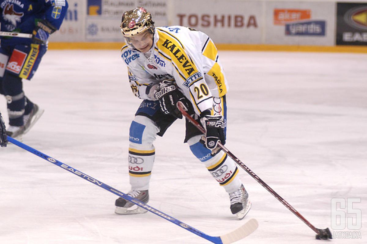 Pesonen esiintyi Kärpissä viimeksi vuonna 2008.
