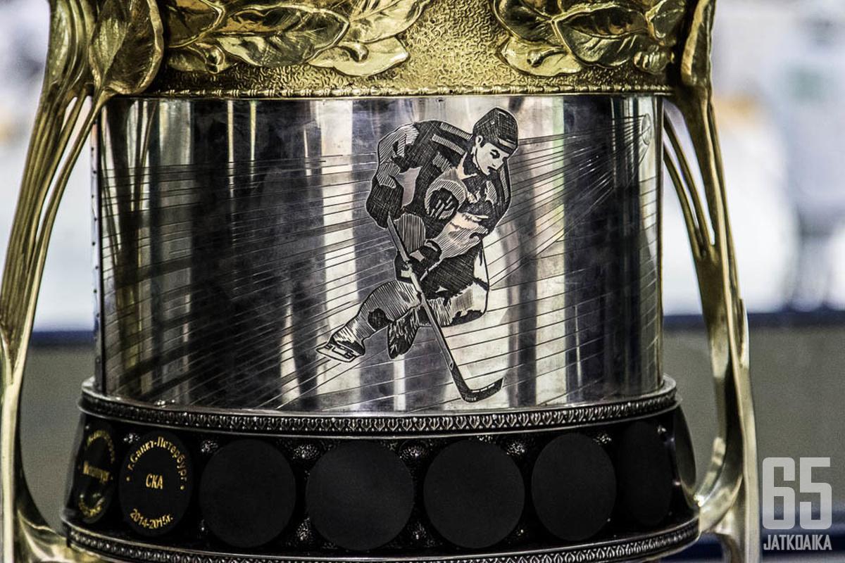 Taistelu Gagarin Cupista jatkuu toisen kierroksen osalta keskiviikkona.