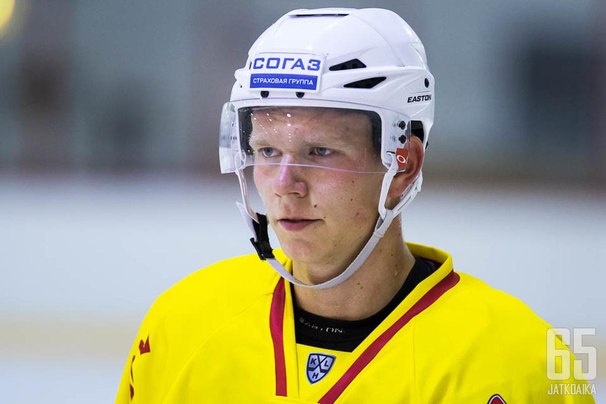 Rautanen on esiintynyt tällä kaudella KHL- ja Mestis-kaukaloissa.
