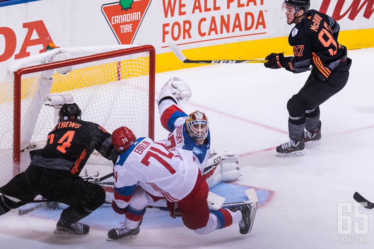 Pohjois-Amerikan joukkue tarjoili turnauksessa monia huippuhetkiä.