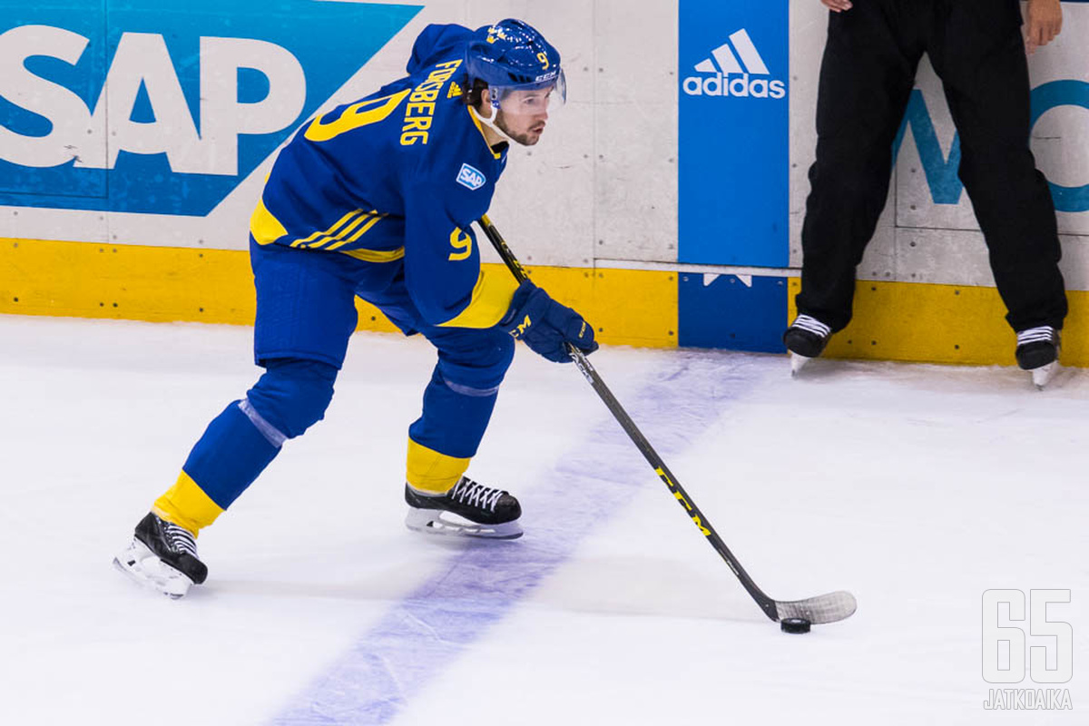 Filip Forsberg saapuu vahvistamaan Ruotsin joukkuetta.