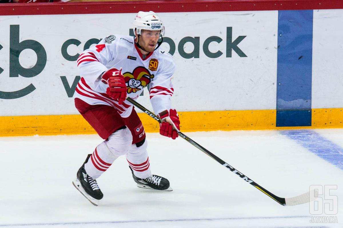 Tommi Kivistö palasi jokeripaitaan viiden muualla vietetyn kauden jälkeen.