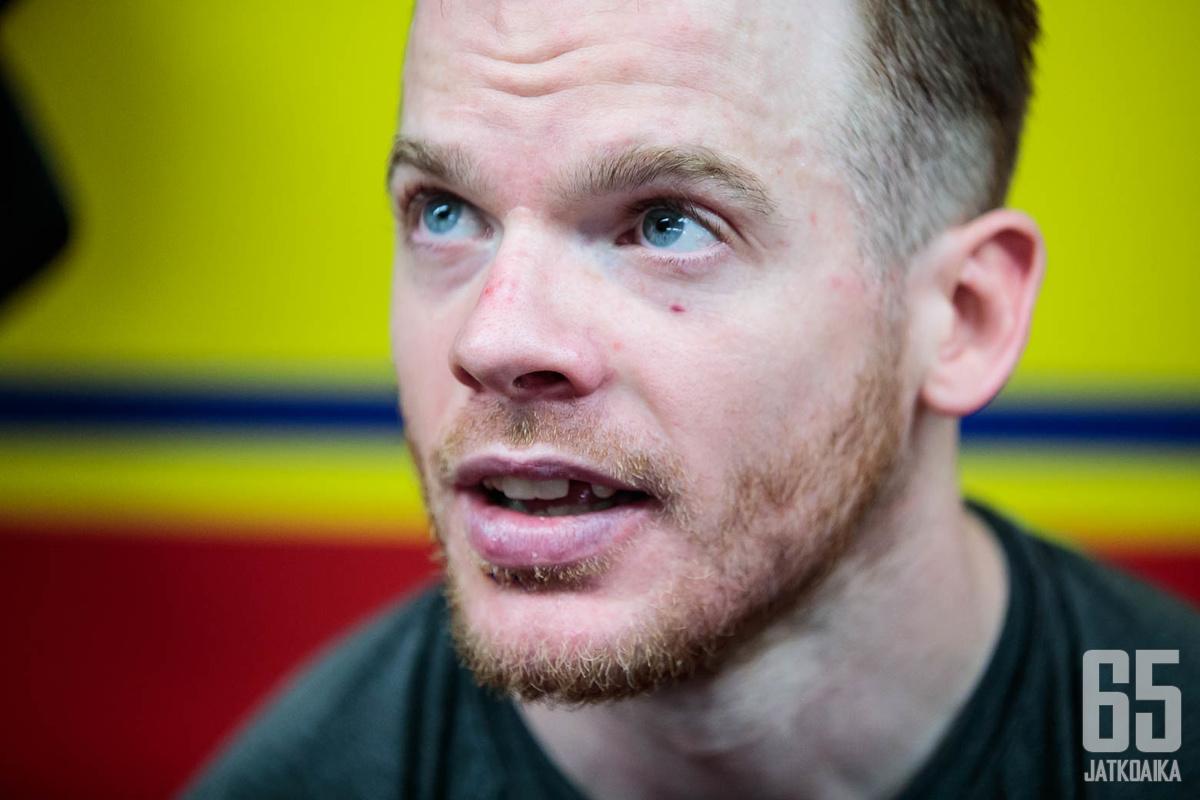 O'Neill oli pitkään kiinni voittomaalissa.