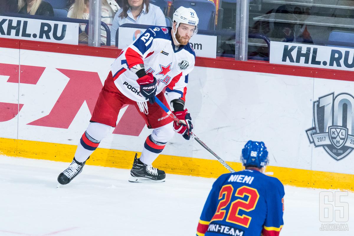 Grigorenko on Venäjän MM-joukkueessa.