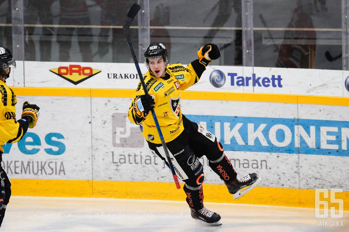 Henri Knuutinen palaa Iisalmesta Kuopioon.