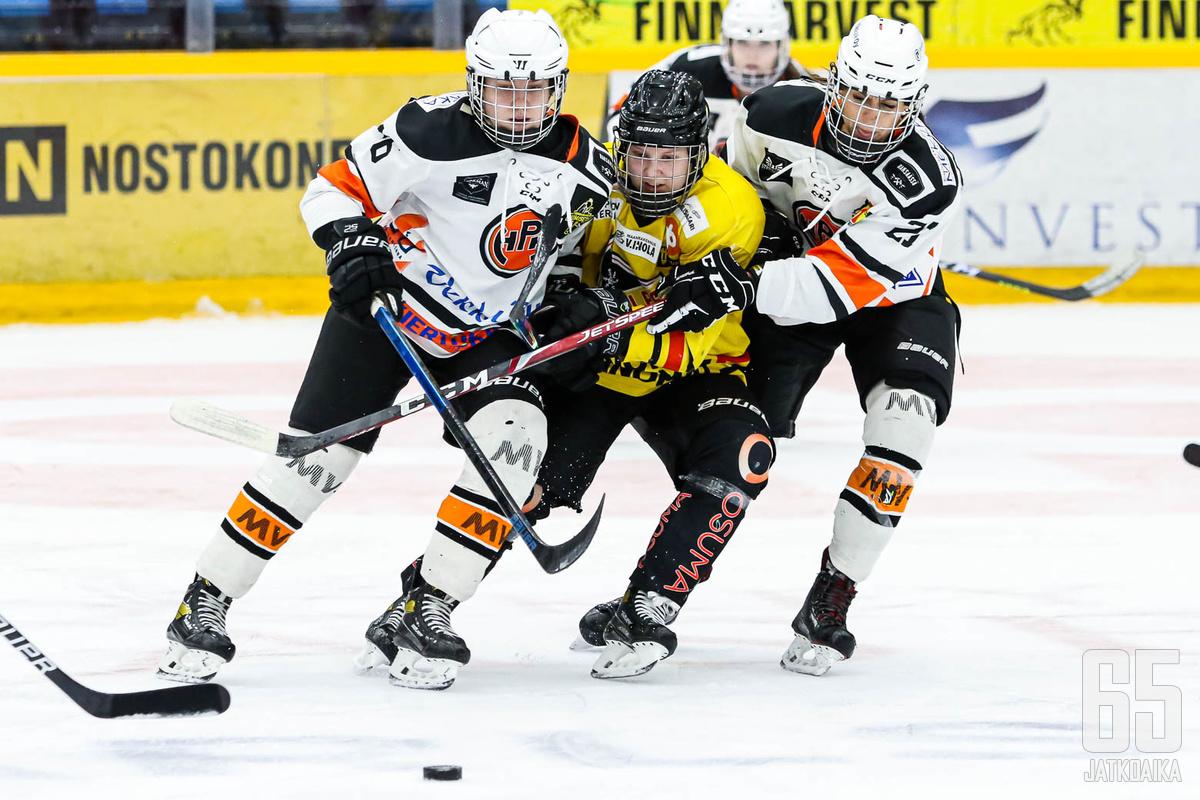 KalPa ja HPK eivät saaneet yhtään kolmen pisteen voittoa syyskuussa.