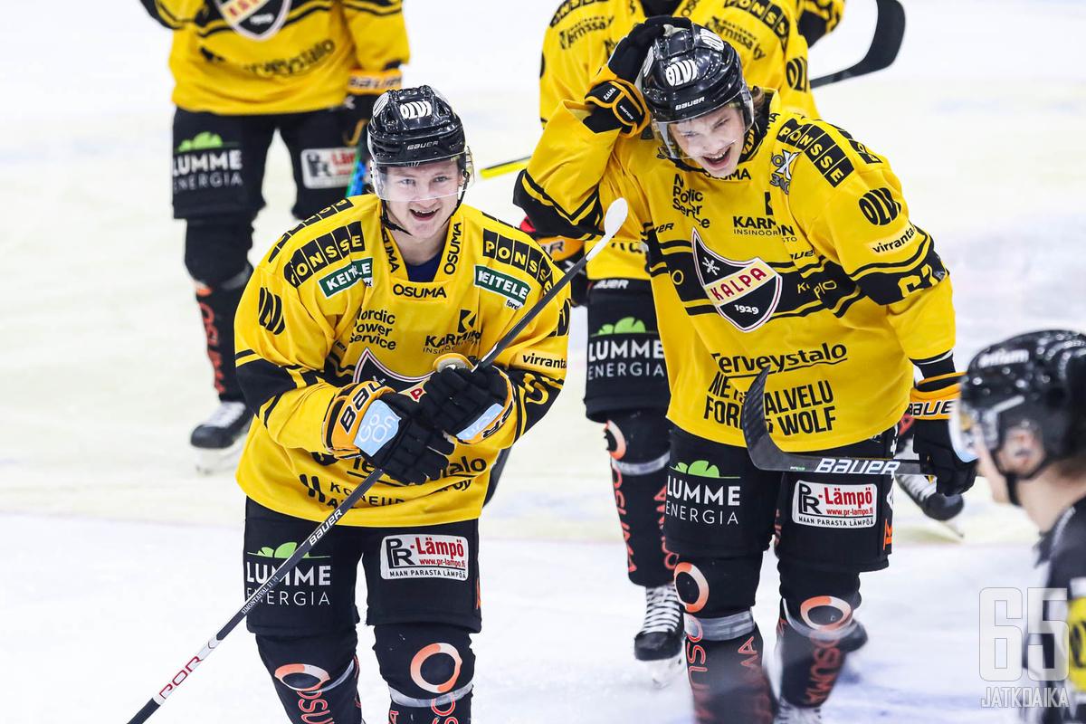 Kuopiolaiset ovat olleet viime peleissä vahvoja kotikaukalossaan.