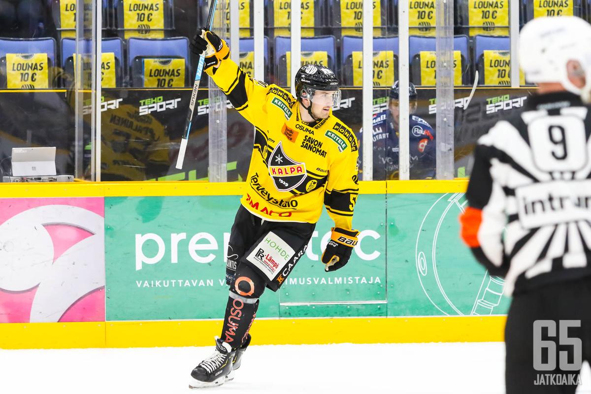 Lasse Lappalainen vastasi ottelun voitto-osumasta.