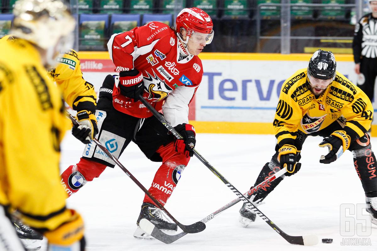 Tony Sund antoi NHL-sopimukseen riittäneet näytöt.