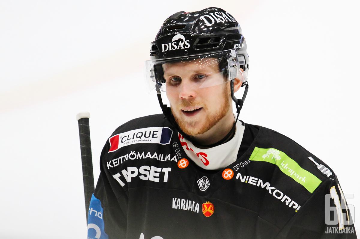 Michal Krištof on ollut tällä kaudella CHL:ssä Kärppien paras pistemies.