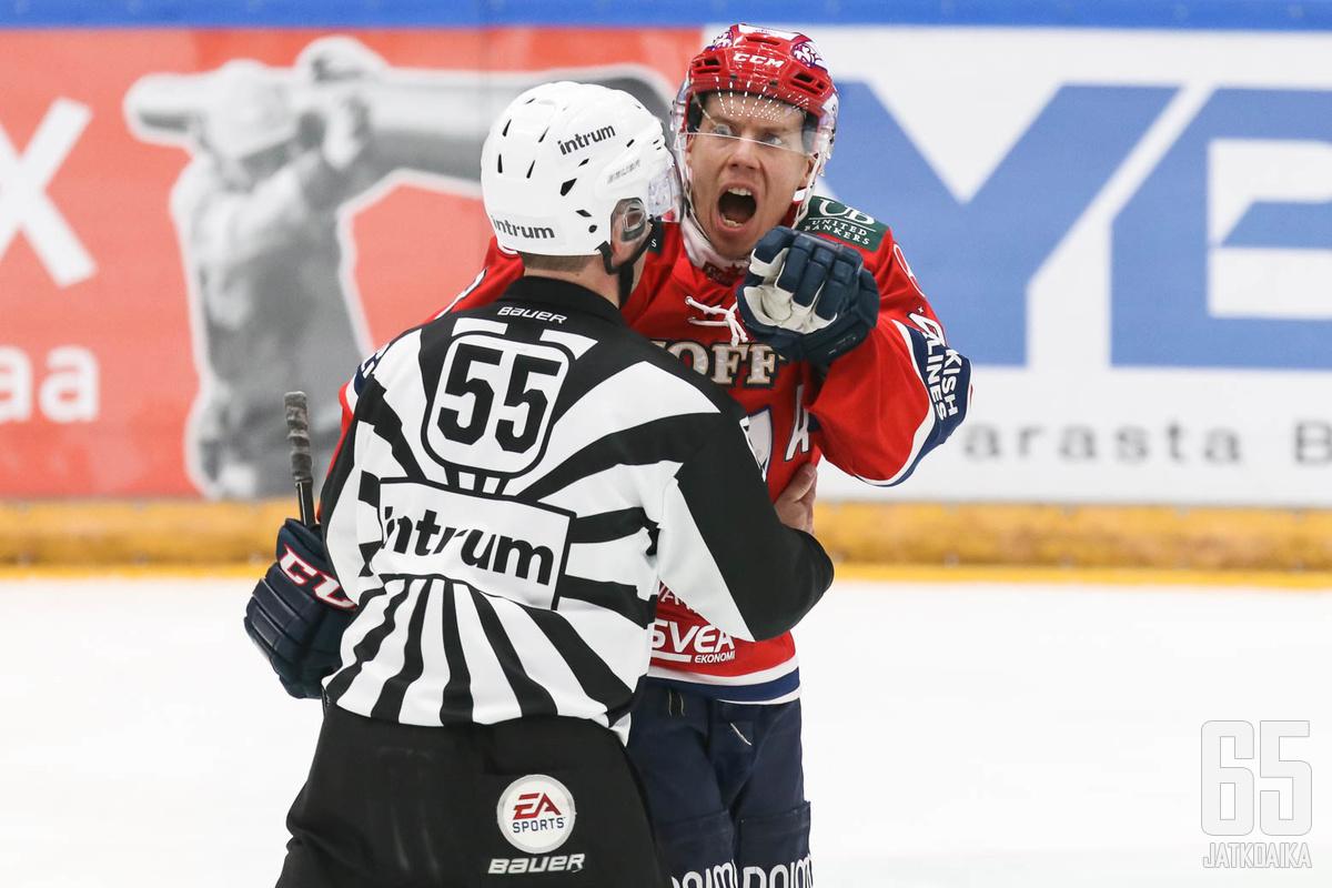 Ville Varakas on ollut Liiga-viikon puhutuin pelaaja.