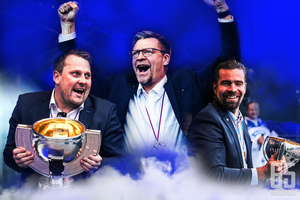 Jukka Jalonen on valittu Vuoden jääkiekkopersoonaksi.