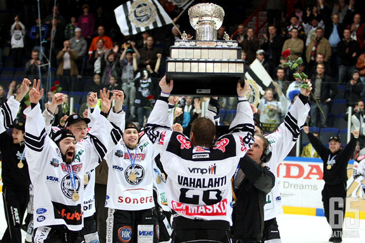 TPS Suomen mestarit 2010.